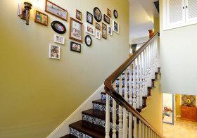 美式精致楼梯细节