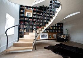 美式旋转楼梯美图欣赏