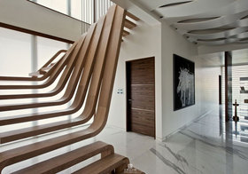 现代个性楼梯造型设计
