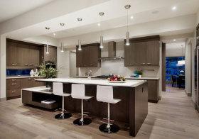 现代木质吧台设计
