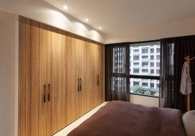 混搭木质衣柜设计
