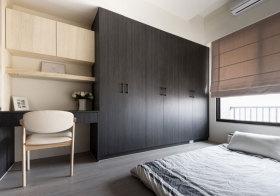 日系木质衣柜美图