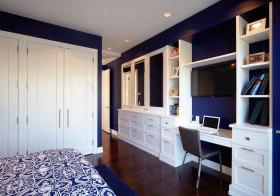 美式紫色衣柜美图鉴赏