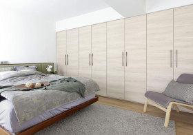 混搭木质衣柜欣赏