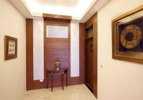 中式复古玄关设计
