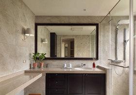 美式复古浴室柜欣赏