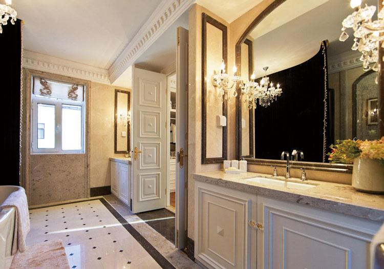 欧式奢华浴室柜欣赏
