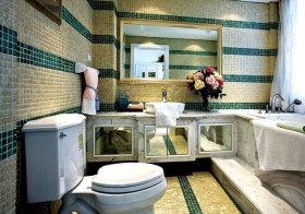 欧式摩登浴室柜欣赏