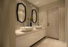 欧式精美浴室柜美图
