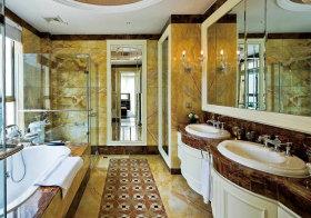 东南亚大理石浴室柜设计