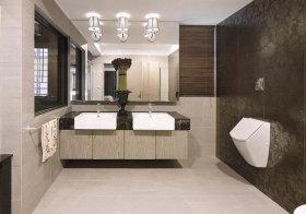 东南亚复古浴室柜美图