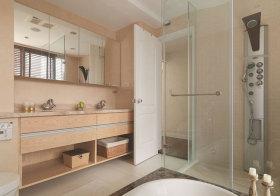 宜家木质浴室柜美图