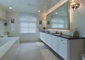 北欧白色浴室柜欣赏
