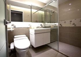现代简单浴室柜设计