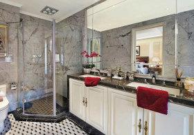 欧式大理石浴室柜设计