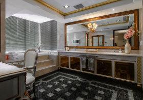 欧式金属浴室柜欣赏
