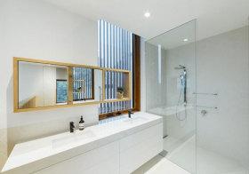 现代简洁浴室柜设计