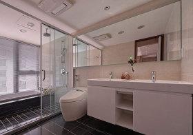现代多功能浴室柜设计