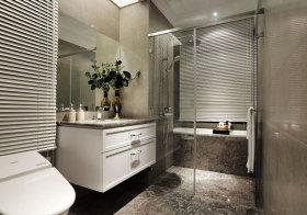 简欧木石浴室柜欣赏