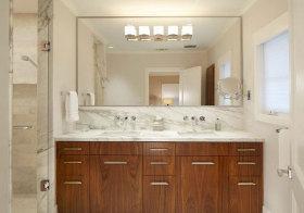 混搭木石浴室柜欣赏
