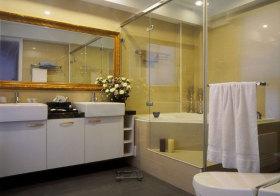 混搭金边浴室柜欣赏