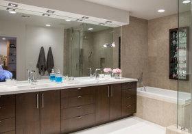 混搭多功能浴室柜欣赏