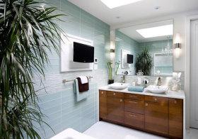 美式现代化浴室柜美图