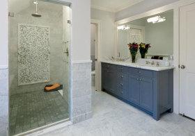 美式立方体浴室柜美图