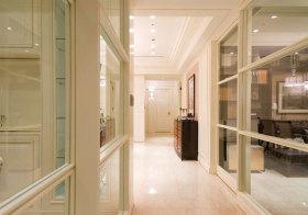 欧式玻璃过道设计