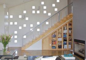 现代楼梯收纳设计