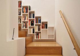 现代楼梯收纳造型