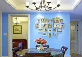 美式爱心照片墙设计