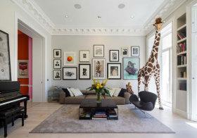 混搭客厅照片墙美图鉴赏