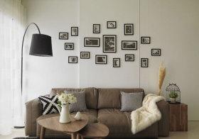 宜家布艺照片墙欣赏