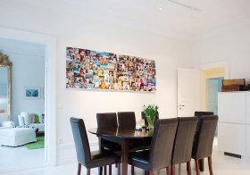 北欧长方形照片墙欣赏