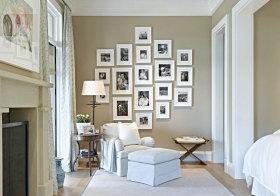 美式精美照片墙欣赏