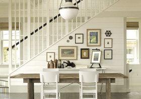 美式木质照片墙美图