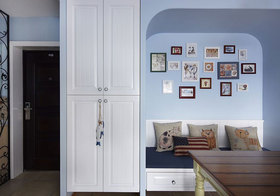 美式弧形照片墙欣赏