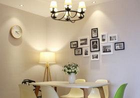 现代灯光照片墙欣赏