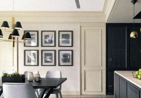 美式简洁照片墙设计