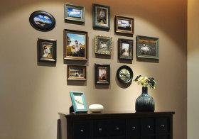 美式金属照片墙细节