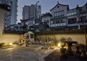 中式假山花园设计
