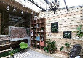 混搭格子花园设计