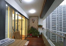 中式阳台花园欣赏