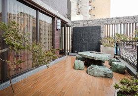 中式假山花园欣赏