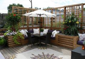 现代风情花园设计