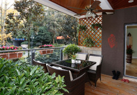 新中式花园实景拍摄