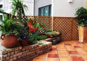混搭花园一角欣赏