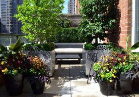 现代大气花园欣赏