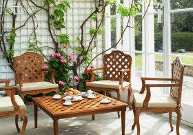中式藤蔓花园美图
